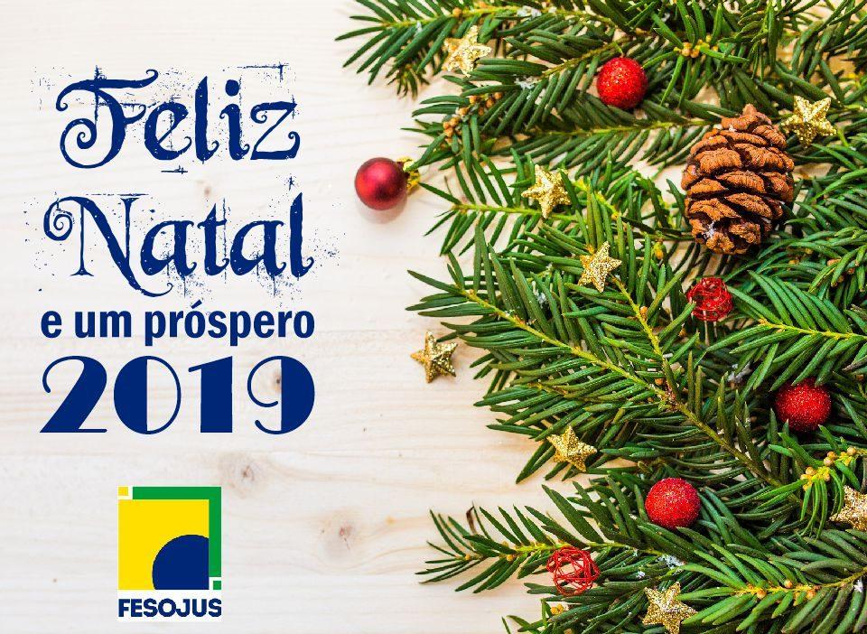 cartão natal fesojus 2018